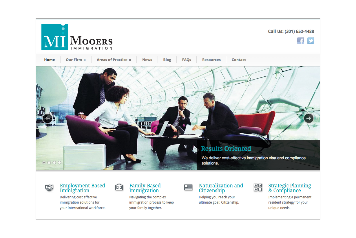 Mooers Immigration Website