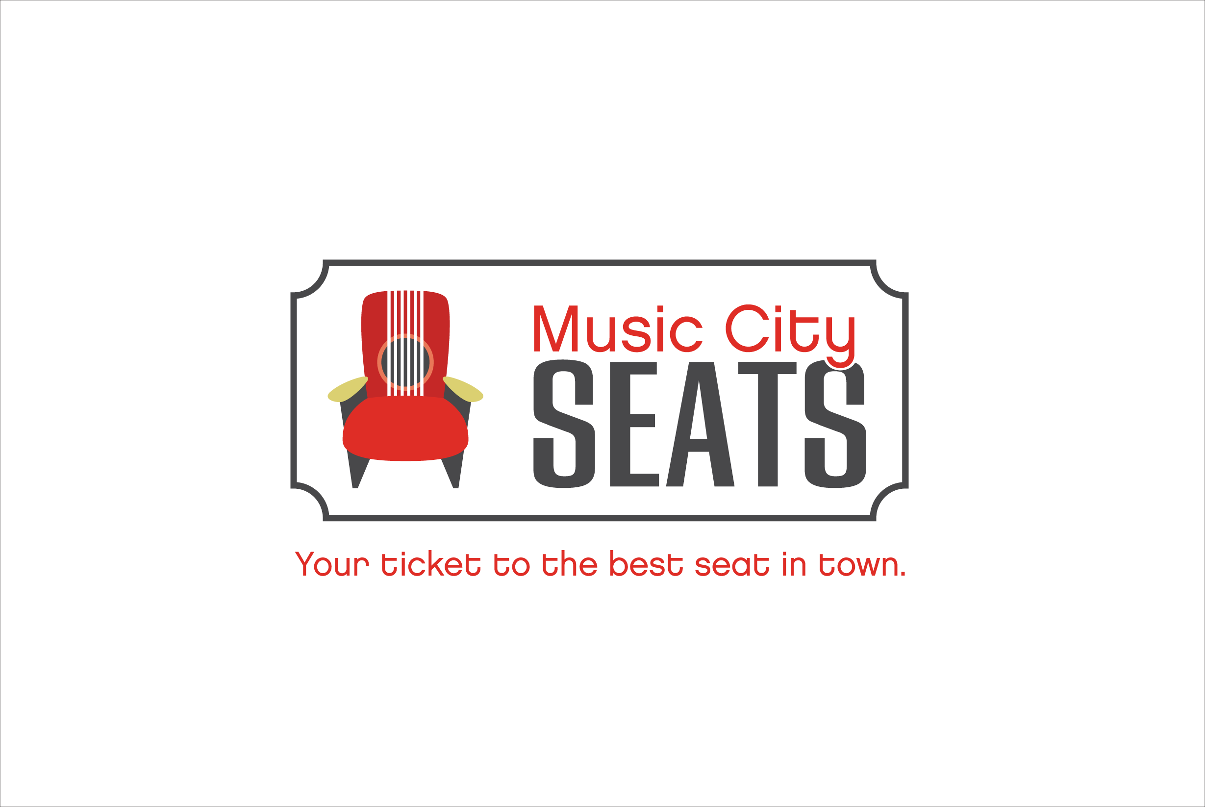 Music City Seats Logo
