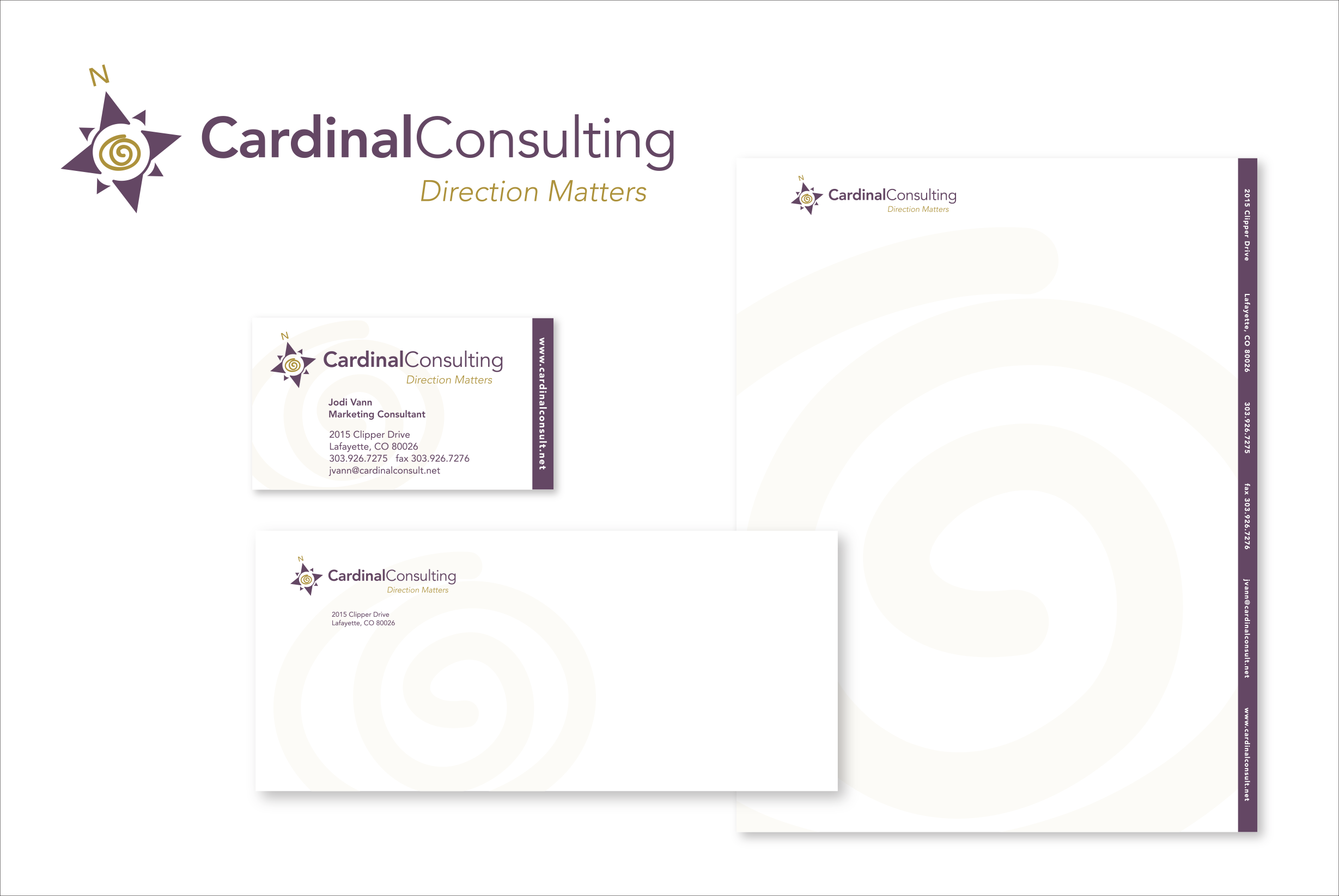 Cardinal Consulting Stationery