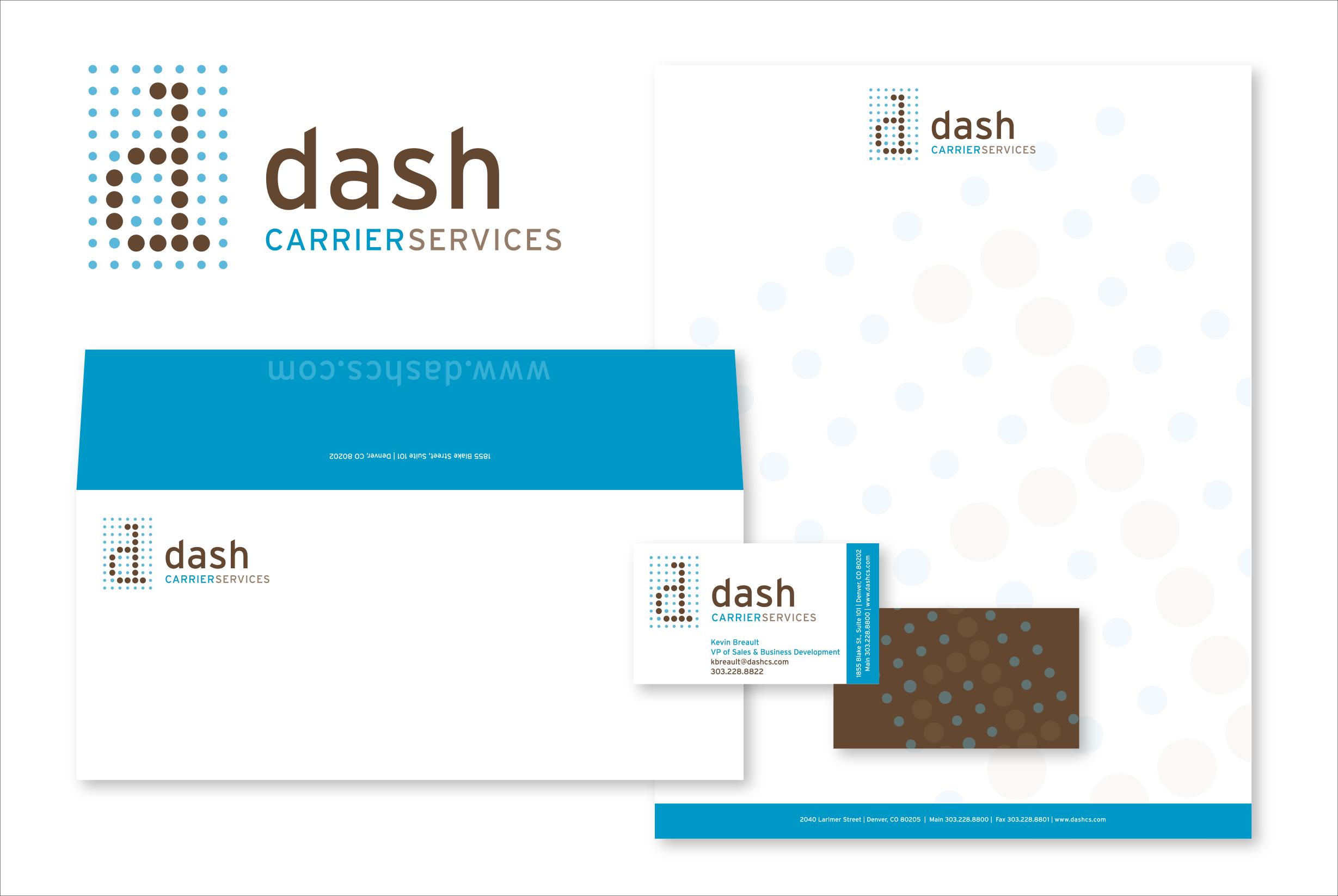 dash Logo & Stationery