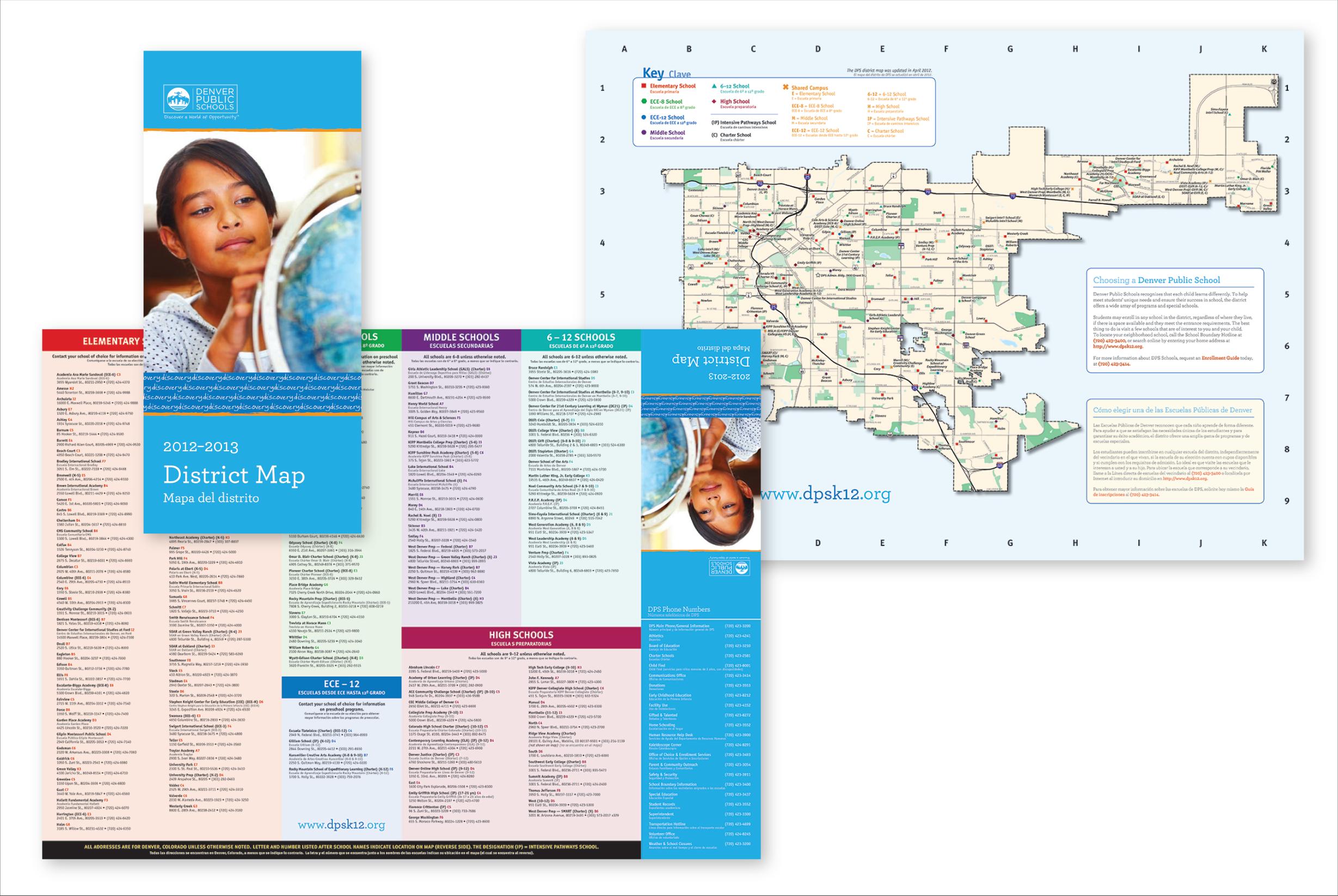 DPS Foldout District Map