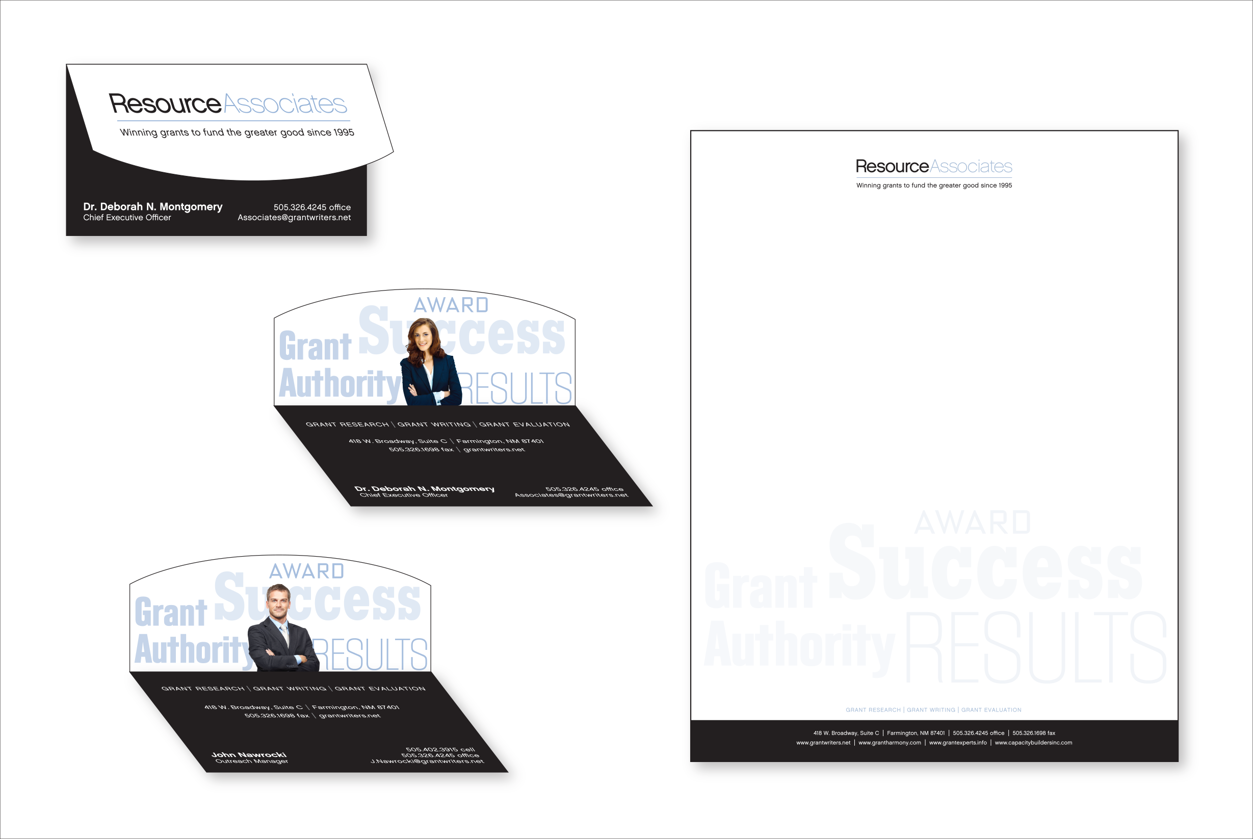Resource Associates Stationery
